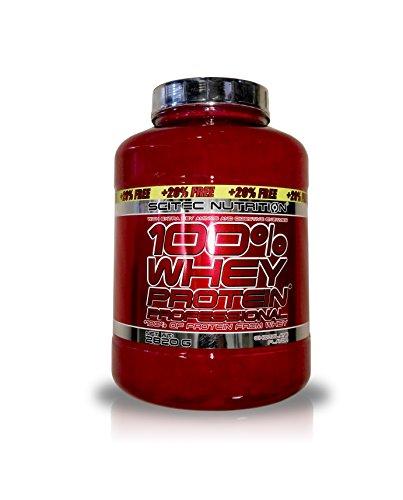 100% whey protein professional 5 lb (2350g) + 20% free cioccolato