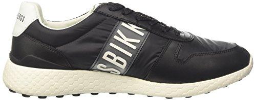BIKKEMBERGS Herren Strik-Er 924 Niedrige Sneaker Bianco