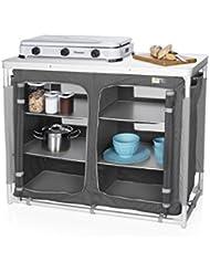 CAMPART Travel KI-0734 - Cocina de camping, color gris