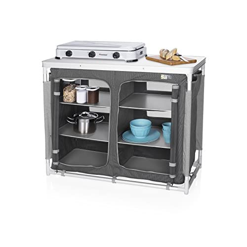 41k39JCwG9L. SS500  - CamPart Travel Camping Outdoor Kitchen with 4 Adjustable Feet and 6 Layers