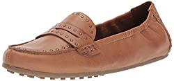 Aerosoles Womens Drive up Penny Loafer, Dark Tan Leather, 7.5 M US