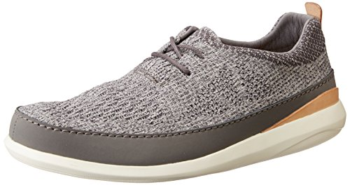 Top Grey Herren Low Grau Clarks Clarks Herren Run Pitman 6WwqxFYWBP