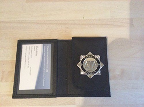 warrant-card-wallet-id-card-holder-with-security-officer-badge