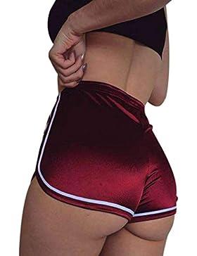 Pantalones cortos mujer sexy , ❤️ Amlaiworld Mujer Leggins Pantalones cortos casuales de verano Pantalones cortos...