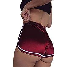 Pantalones cortos mujer sexy , ❤ Amlaiworld Mujer Leggins Pantalones cortos casuales de verano Pantalones