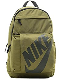 Nike Sportswear Elemental Poliéster Negro, Caqui mochila - Mochila para portátiles y netbooks (Poliéster