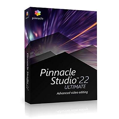 PinnacleStudio22Ultimate Ultimate 1 1 An PC Disque de Corel - Logiciels
