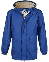 Mens Bellfield TENANT Designer Shower Proof Hooded Parka Coat Bomber Jacket Size