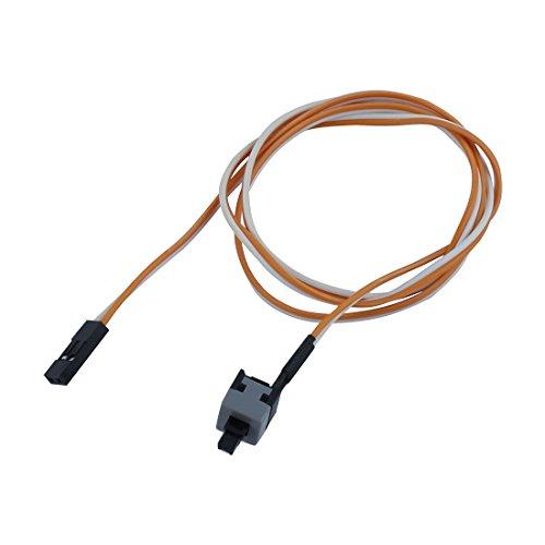 Sourcingmap® Ersatz Power Switch Button Schalter Reset Kabel, für PC, Computer de -