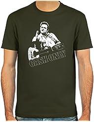 """Pixda T-Shirt """"Cash Only"""" ::: Farbauswahl: deepred, oliv, navy oder schwarz ::: Größen: S-XXL"""