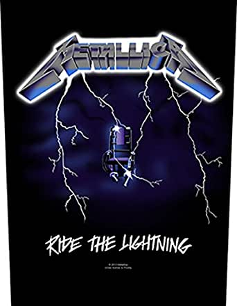 Ride the Lightning Backpatch