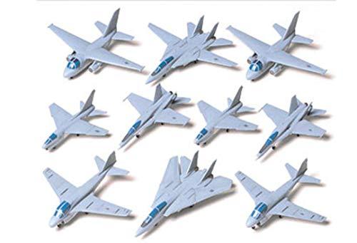 TAMIYA 300078006 - 1:350 US Navy Flugzeug-Set I, 10 Stück Navy Set