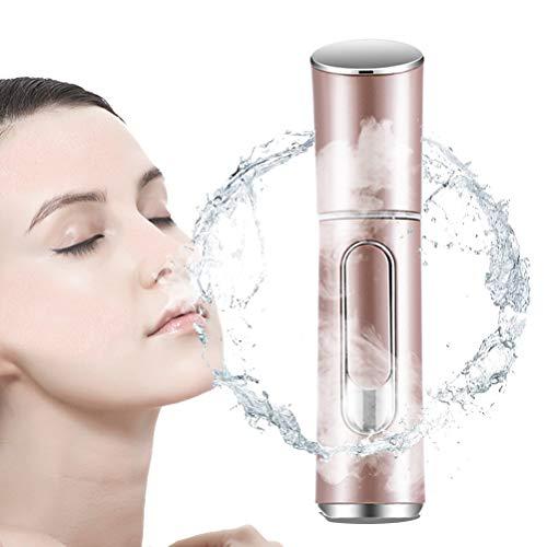 LDFANG Vaporizador Facial Portátil De Mano, Pulverizador Nano Facial De Hidratación Profunda, Ionizador...