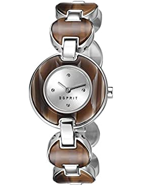 Esprit Damen-Armbanduhr XS Lagoon Tortoise Analog Quarz