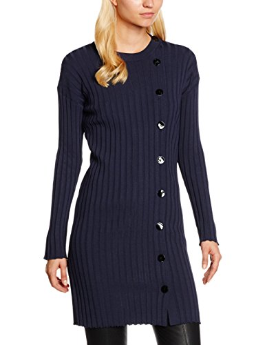 filippa-k-button-tunic-dress-robe-tricote-manches-longues-femme-marine-grape-40