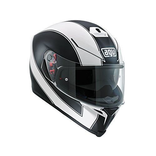 AGV Casco Moto K-5S E2205Multi plk, Enlace blanco matt/negro, L