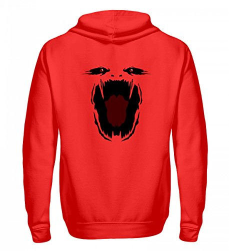 die - Monster Gesicht Gruselig Halloween - Schlichtes und Witziges Design (Monster Energy Kostüm)