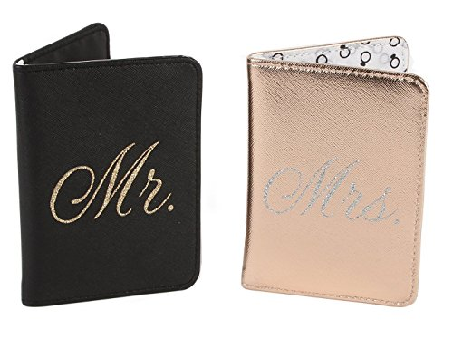 Always Forever Mr. And Mrs.Passport Holder Set - WTC709