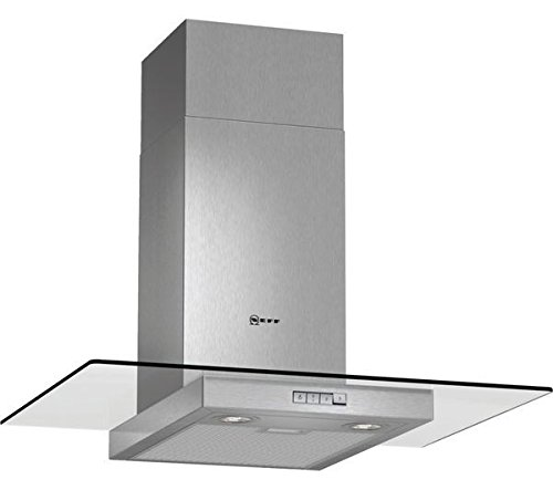 Neff D87ER22N0B Stainless Steel, 70cm Chimney Cooker Hood with Flat Glass Canopy lowest price