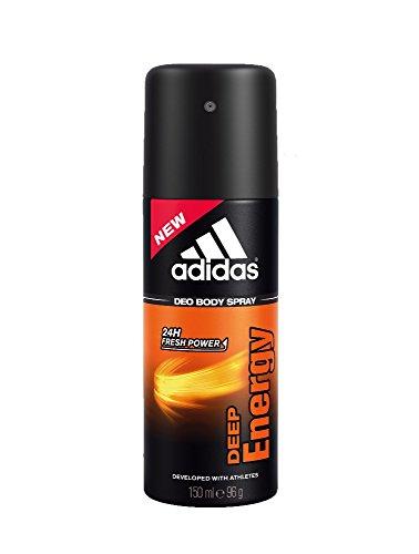 Adidas Deo Spray corpo per gli uomini Profondo Energia 150ml / deodorante / spruzzo deo