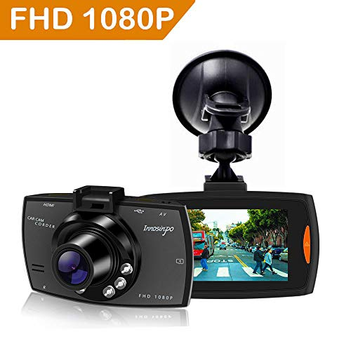 Upgraded Dash Cam 1080P FHD Dashcam for Car Dashboard Camera Recorder with High Sensitive G-sensor, 6 IR LED Night Vision,Loop Recording,Motion Detection,Parking Monitor