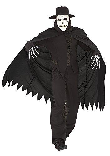 Imagen de haunted house  disfraz de calavera siniestra, para adultos, talla única rubie's spain s8332