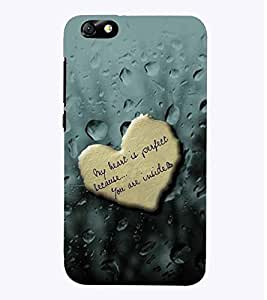 PrintVisa Romantic Love Quotes 3D Hard Polycarbonate Designer Back Case Cover for Huawei Honor 4X