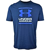 Under Armour GL Foundation T - Camiseta de Manga Corta para Hombre, Hombre, 1326849-408, Academy/Steel/Royal, 2 X-Grande