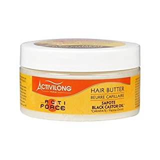 Activilong Actiforce Hair Butter Black Castor Oil Sapote Kastoröl und Sapote-Butter 100 ml