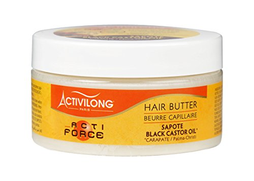 Activilong Actiforce Hair Butter Black Castor Oil Sapote Kastoröl und Sapote-Butter 100 ml -