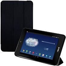kwmobile Funda para Asus Memo Pad HD 7 - Smart Cover de cuero sintético para tablet - Case ultra delgada para tableta en negro
