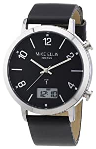 Mike Ellis New York Herren-Armbanduhr Analog - Digital Quarz Leder M2940SU/1