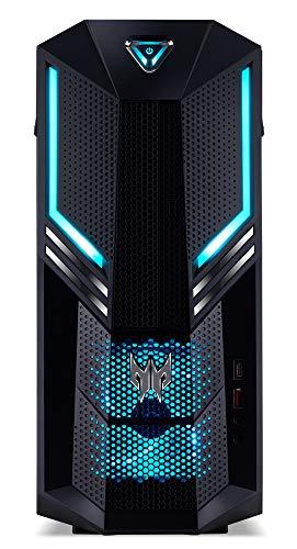 Predator Orion 3000 Gaming Desktop PC (Intel Core i7-8700, 16GB RAM, 256GB SSD, 2000GB HDD, NVIDIA GeForce RTX 2070, Win 10) schwarz/blau