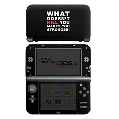 DeinDesign Nintendo New 3DS XL Case Skin Sticker aus Vinyl-Folie Aufkleber Crossfit Motivation Stärke