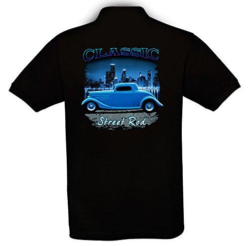 Ethno-Designs-Classic-Street-Rod-Hot-Rod-Polp-Shirt-fr-Herren-Old-School-Rockabilly-Retro-Style-regular-fit-black-Gre-XXXL