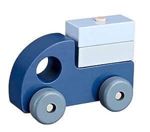 Kids Concept- Vehículos de jugueteCoches y Otros vehículosKids ConceptWooden Cars, Set of 3, Multicolor (1)