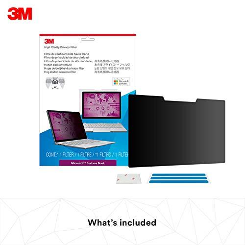 3M Filtro privacidad High Clarity Microsoft® Surface®