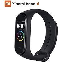 """Xiaomi Mi Band 4,Smart Band Touchscreen 0.95"""" AMOLED a Colori,Smartwatch Cardiofrequenzimetro da Polso/Contapassi/ Fitness/Musica/Notifiche di Messaggi, Activity Tracker Impermeabile 50M BT 5.0"""