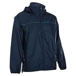Quechua Raincut Zip Jacket, Small (Navy)