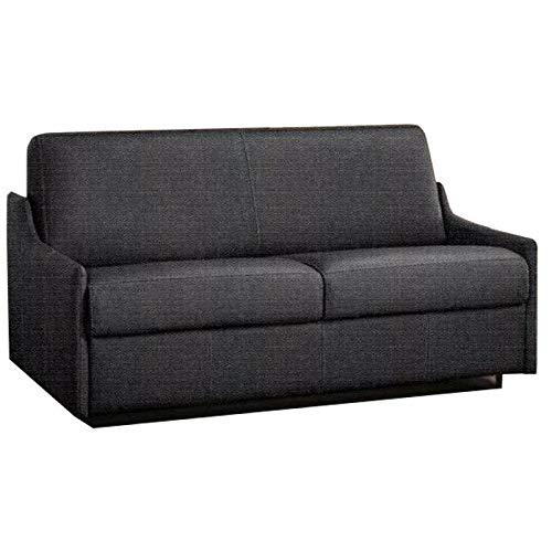 3 Seater Sofa Bed LUNA Convertible RAPIDO 120 Cm, Graphite