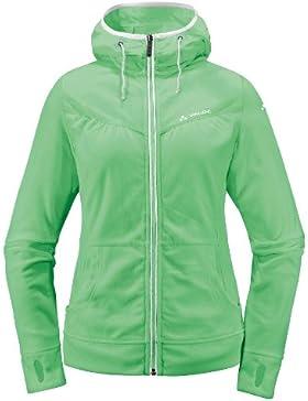 VAUDE Jacke Women's Purna Jacket - Cortavientos para mujer, color verde, talla 40