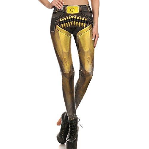 Leggings femmes marque Super Hero D.Va Leggins Legging imprimé jeu pour femme Pantalon KDK S1678