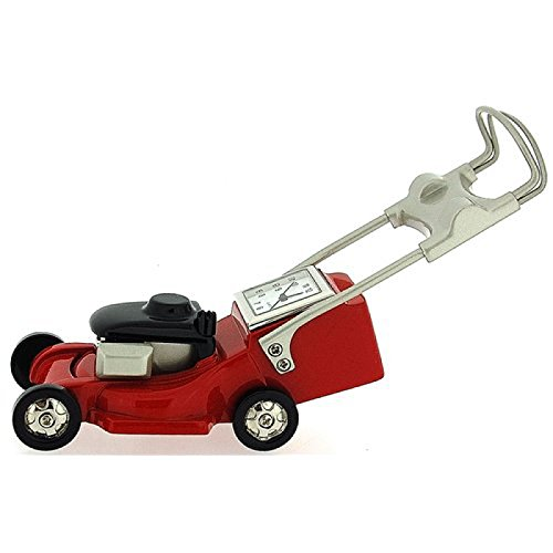 miniature-lawn-mower-novelty-red-black-silver-ornamental-collectors-clock-0126