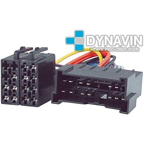 ISO-KIA.2002 - Conector iso universal para instalar radios en Kia y Hyundai.