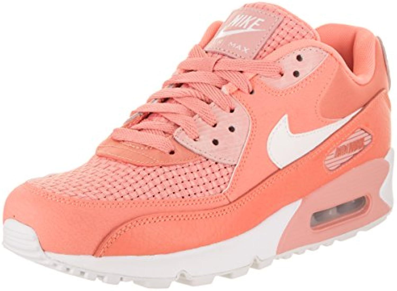 Nike Nike Nike Women's Air Max 90 SE Crimson Bliss/White Running Shoe 6 Women US B00L1R7WXO Parent f4fd36