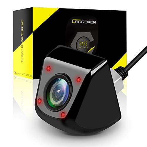 Caméra nocturne CCD Car Rover Noir