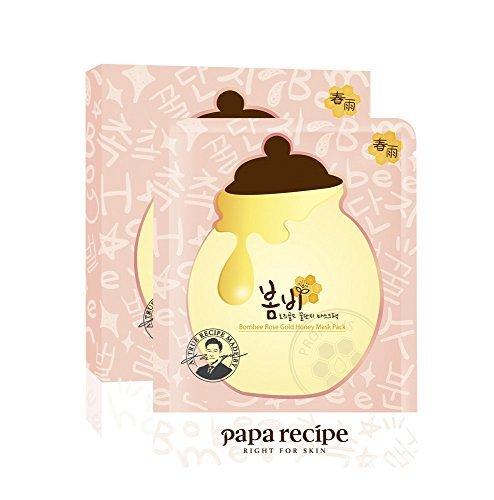 [PAPA RECIPE] Bombée oro rosa miel paquete máscara