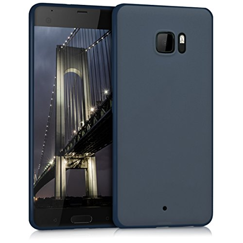 kwmobile HTC U Ultra Hülle - Handyhülle für HTC U Ultra - Handy Case in Dunkelblau matt