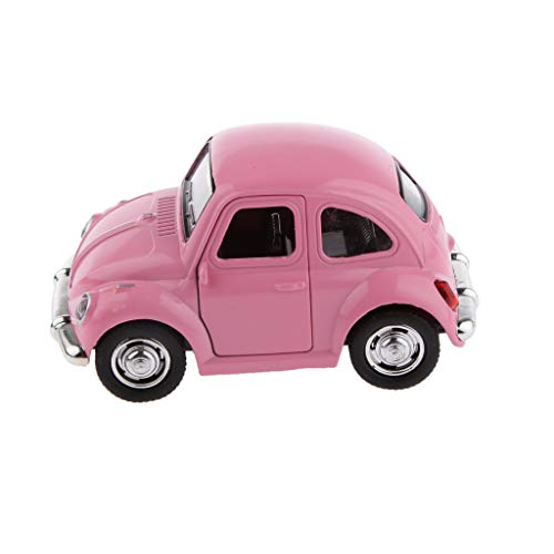 Mini Modèle de Voiture Classique Coloré Die Cast Pull Back Jouet Cadeau Enfants - Rose, 180cm