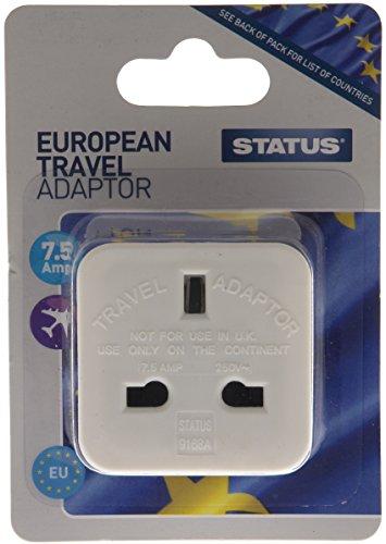 Status SEUROAD4Europäischen Reise Adapter (Paket von 4) -